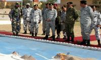 CNS Admiral Zafar Abbasi visits naval installations at Gwadar