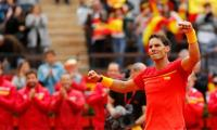 Nadal wins in first match since January