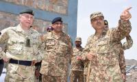 UK CGS Nicholas discusses regional security with COAS General Bajwa
