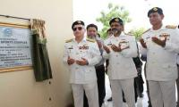 Navy chief visits Cadet College Petaro