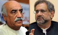 'Who will be caretaker PM?': PM Abbasi, Khursheed Shah discuss options