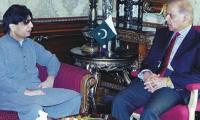 Shahbaz, Nisar meet in Lahore