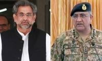 PM Abbasi, Army Chief Bajwa arrive in S Arabia