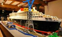 World's biggest ship made of lego bricks fetches global record