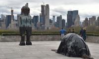 Pakistani-American sculptor Huma Bhabha brings politics to NY's Met rooftop