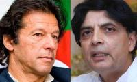 Imran invites 'old freind' Nisar to join PTI