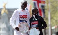 Kipchoge, Cheruiyot celebrate Kenyan double at London Marathon