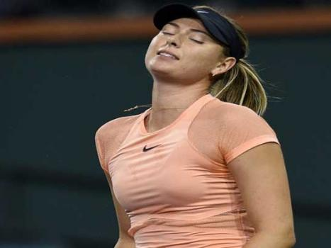 Sharapova stunned by Garcia in Stuttgart first round
