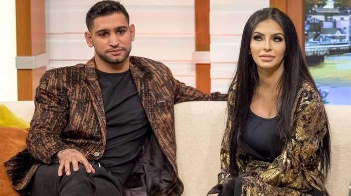 Second baby girl born to boxer Amir and Faryal