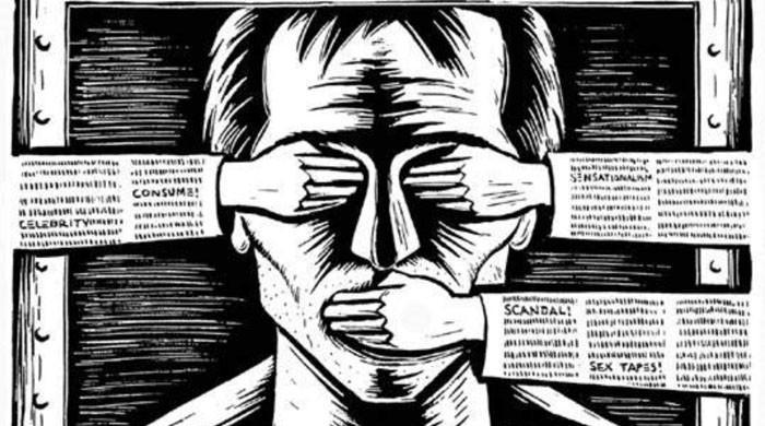 Trump, Russia and China media attacks 'threaten democracy'