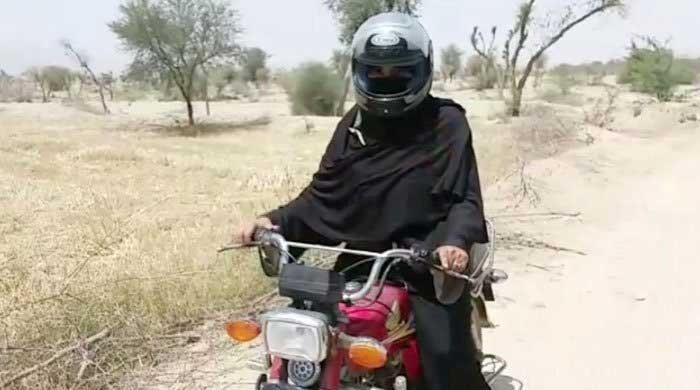Meet the 'motorcycle' lady from Dera Ghazi Khan