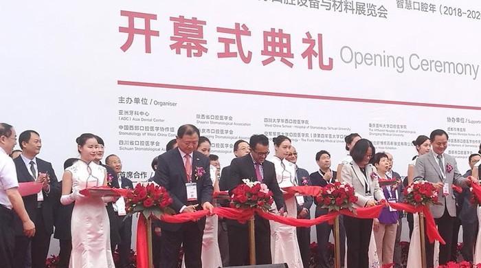 Pak delegation participates in West China Dental Show