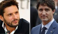 Justin Trudeau extends support to Afridi, asks Canadians for donations to build hospital in Pakistan
