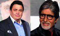 Bollywood greats Amitabh Bachchan, Rishi  Kapoor reunite after 27 years