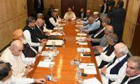 PM chairs meeting of parliamentary leaders on FATA reforms