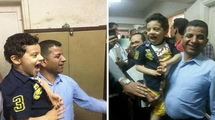 Egyptian court acquits four-year-old boy accused of kissing same age girl
