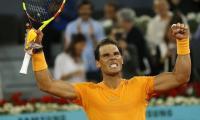 Nadal breaks McEnroe record in Madrid, Del Potro, Sharapova, Halep beaten