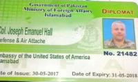 US refuses to share info on diplomat's bid to fly out of Pakistan