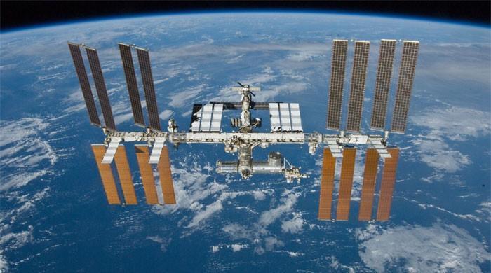美国太空行走者互换,检查冷却器'Leaky'和'Frosty'