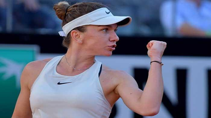 Halep downs Sharapova to reach Rome final