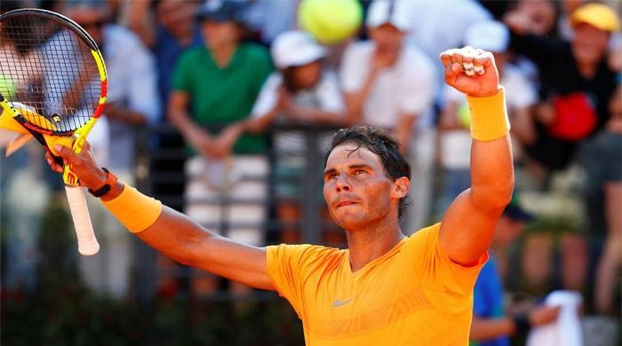Nadal beats Djokovic, sets up Zverev clash in Rome final