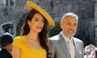 George and Amal Clooney steal the show at the royal wedding