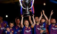 Iniesta and Torres given emotional send offs on final day of season