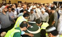 Texas Muslims mourn slain Pakistani exchange student