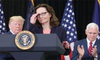 First woman CIA director sworn in