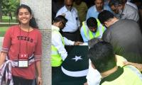 Sabika's body brought home in Karachi, funeral today