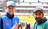 England win toss, bat first against Pakistan