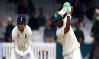 Babar builds lead before Stokes snares Sarfraz in first Test