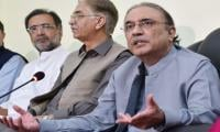 Nawaz Sharif playing double game, alleges Zardari