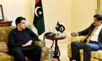 CM Shah gives pictorial presentation to PPP chief