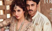 Mahira Khan and Fawad Khan look dapper on cover of Indian magazine