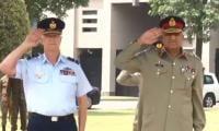General Bajwa, Australian CDF discuss security cooperation
