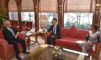 Chinese Ambassador calls on caretaker PM Nasirul Mulk