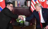 Trump says summit removed NKorean nuclear threat, but Democrats doubtful