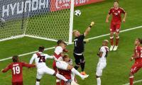 Football: Denmark beat Peru 1-0 in World Cup