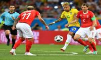FIFA World Cup: Brazil held 1-1 by Switzerland in World Cup