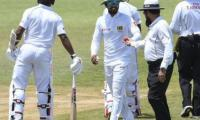 Chandimal denies ball tampering with sweet rescues Sri Lanka with bat