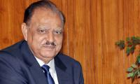 President Mamnoon arrives in Dushanbe