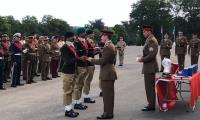 Pakistan Army team wins Pace Sticking Competition in UK