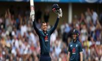 England post new ODI record total