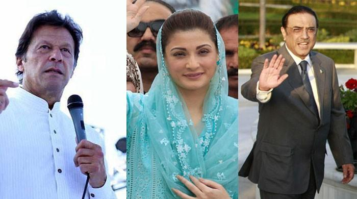Who owns what? - Imran, Zardari and Maryam declare assets