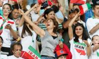 Iran in U-turn on women in stadiums as Fifa World Cup fever takes hold