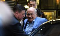 World Cup 2018: Banned FIFA chief Blatter attends Moscow match
