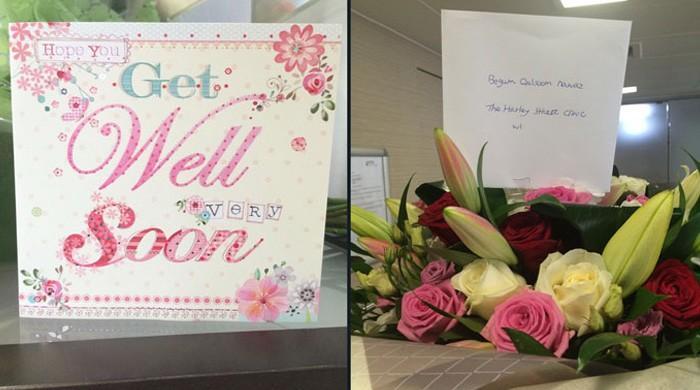 Army Chief sends flowers, wishes for ailing Kulsoom Nawaz