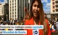 Female FIFA World Cup reporter sexually harassed on live TV