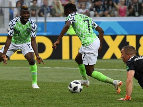 FIFA 2018: Nigeria beat Iceland to lift Argentina hopes of reaching World Cup last 16